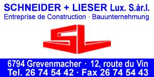 Schneider + Lieser Lux SarL Logo
